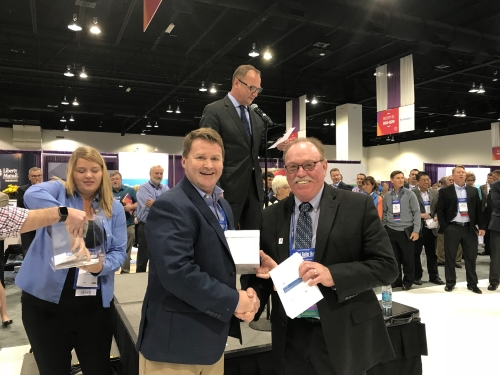 CTM Advisory Presents Kevin Greer with PRIZE at NAMIC 2017